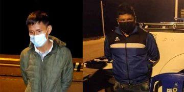 Capturan en Panamericana Sur a varones que traían a Arequipa 51 kg de droga
