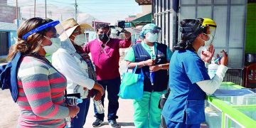Arequipa: En Corire extreman medidas para frenar los contagios y muertes por la Covid