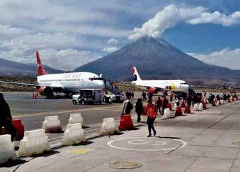 Desde el lunes se suspende el transporte terrestre, aéreo y ferroviario en Arequipa