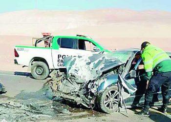 Dos muertos y dos heridos en diferentes accidentes en vías de Camaná