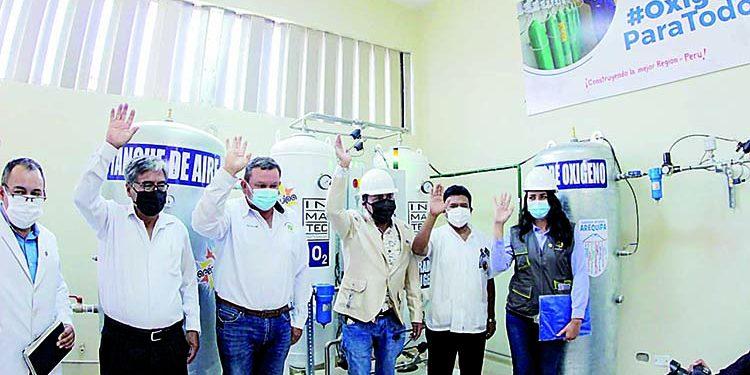 En Aplao ya opera planta de oxígeno que dotará a Castilla, Condesuyos y La Unión