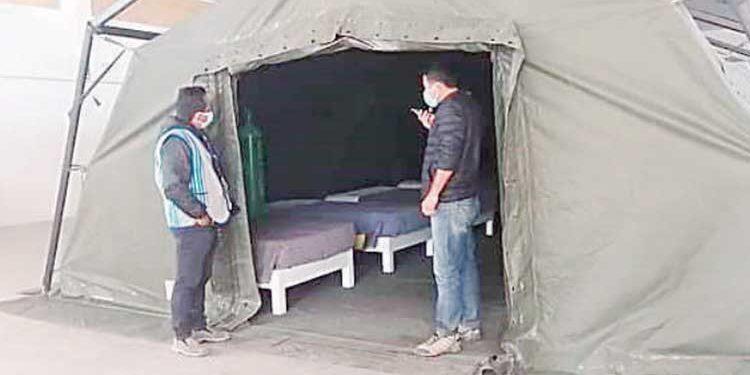 Arequipa: En Orcopampa instalan centros de aislamiento para pacientes covid