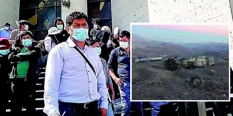Familiares de fallecidos en accidente Nasca -Puquio no reciben apoyo de minera