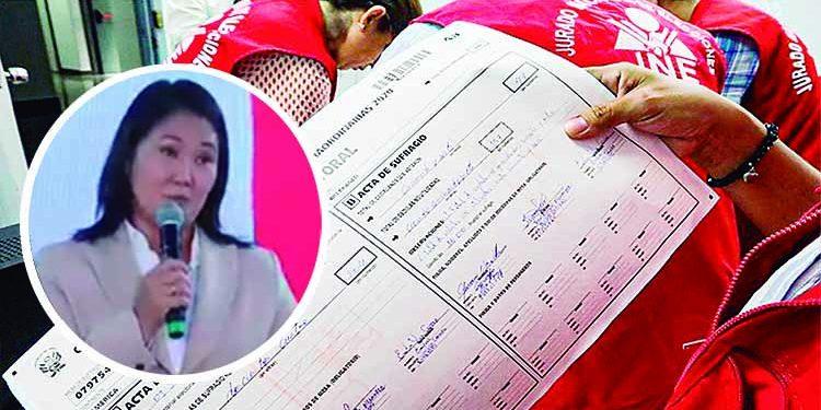 Fuerza Popular apelará ante el JNE tras la negativa a anular actas en Arequipa