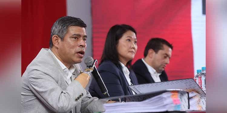 Fuerza Popular presentará habeas data para pedir a la ONPE padrón de electores