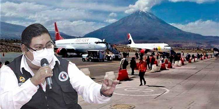 Gerencia de Salud en contra del cerco epidemiológico impuesto en Arequipa
