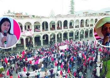 Arequipa: Gobernador Elmer Cáceres pide a Castillo y Fujimori respetar resultados