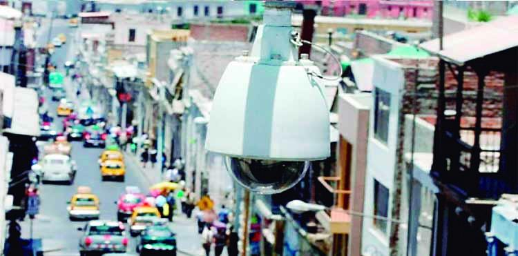 Harán concurso para mantenimiento de cámaras de vigilancia en Cercado de Arequipa