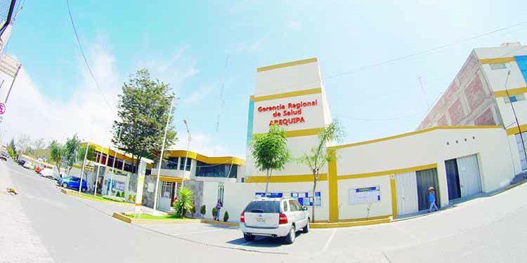 Hurtan 6 de equipos de cómputo de la Gerencia Regional de Salud Arequipa
