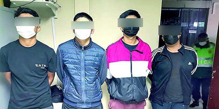 Camaná: Intervienen a 4 adolescentes que asaltaron a menor en Samuel Pastor