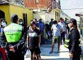 Intervienen a más de 80 ciudadanos que transitaban sin mascarilla en Secocha