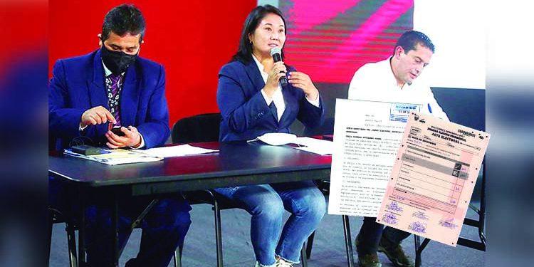 JEE resolverá actas observadas por Fuerza Popular en Arequipa y fallo sería mañana