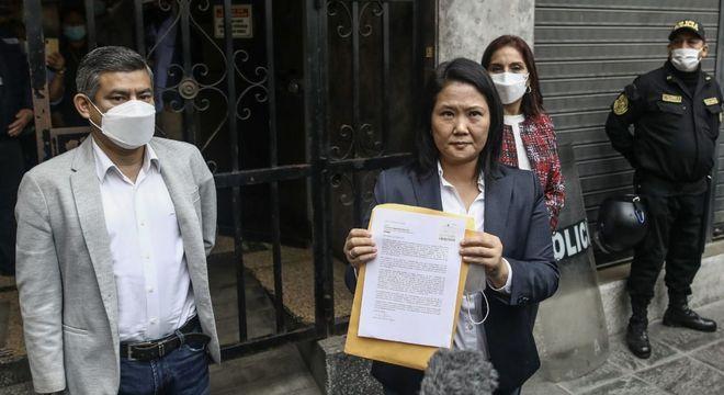 Keiko Fujimori ya ha perdido el electoral, y va camino a perder el judicial.