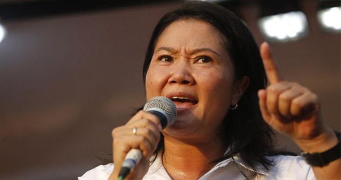 Keiko Fujimori califica antidemocrático no dejarle cerrar campaña en Centro de Lima