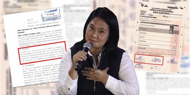 Arequipa: Las actas que Keiko Fujimori busca anular en Miraflores, ASA y Cercado