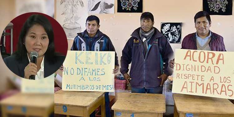 Puno: Los 'Catacora' denunciarán a Keiko Fujimori si no se rectifica por agravios