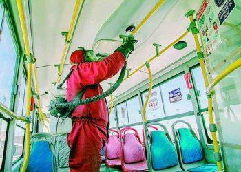 Municipio de Arequipa solicita millón y medio de soles para limpieza y desinfección de buses