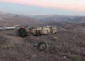 Más de 20 fallecidos tras caída de bus Palomino en carretera Nasca - Puquio