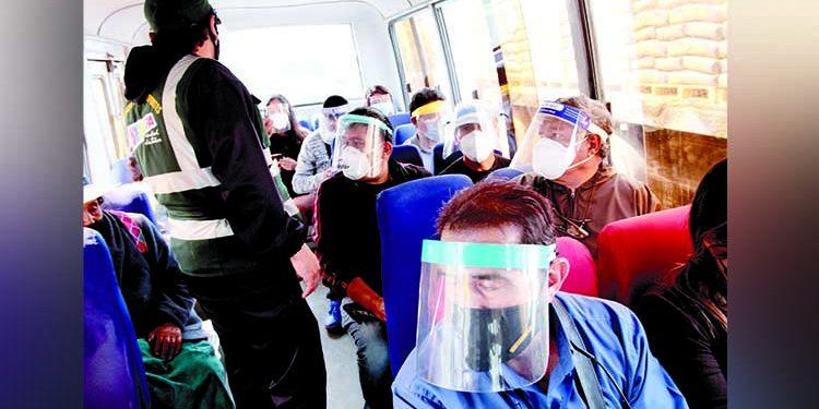 Más de 5 mil papeletas por incumplimiento de protocolos en transporte de Arequipa