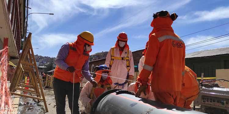 Opeti instalará 9.8 kilómetros de tuberías principales de desagüe en Puno