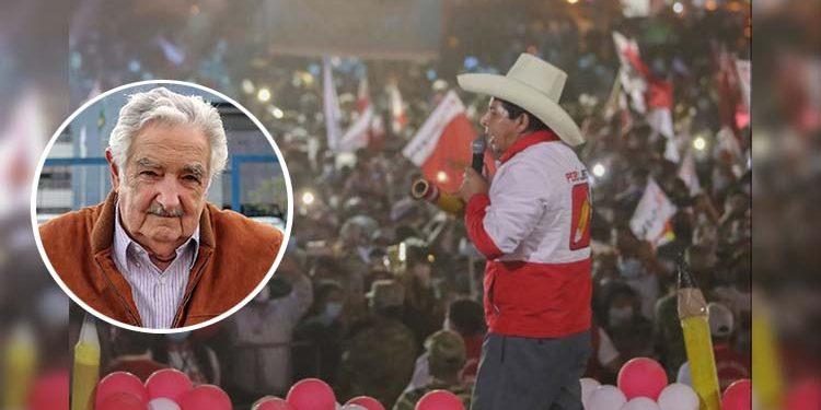 Pedro Castillo cerrará campaña con apoyo de las regiones y con Pepe Mujica