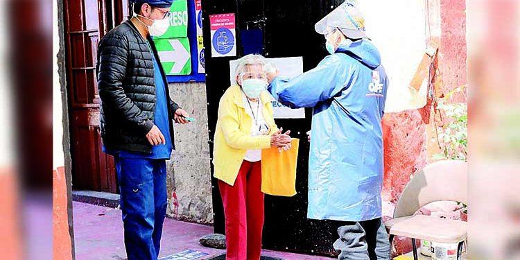 Arequipa: Personas con discapacidad y ancianos dieron ejemplo en segunda vuelta
