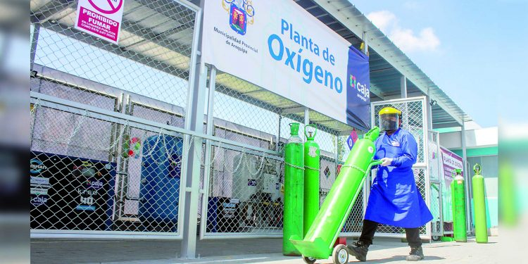 Planta de oxígeno de Hospital Municipal de Arequipa volvería a funcionar en 15 días