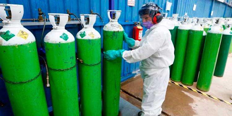 Planta de oxígeno de La Joya al borde al límite de capacidad de recarga