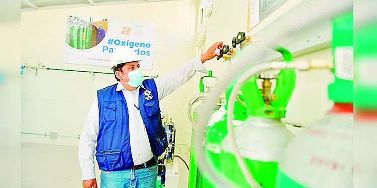 Planta de oxígeno de Majes se averió tras dos semanas de funcionamiento