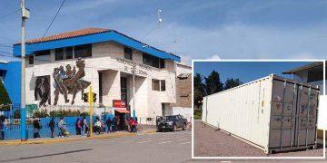 Planta de oxígeno donada a hospital Carlos Monge Medrano no sirve para pacientes Covid