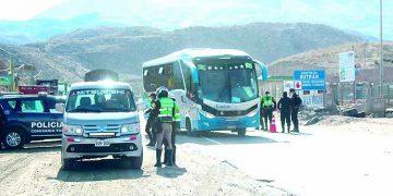 Policías no controlarán 50 accesos de Arequipa pese a cerco epidemiológico