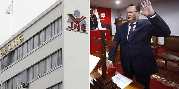 Presidente del JNE suspende al magistrado Luis Arce Córdova tras declinación al Pleno