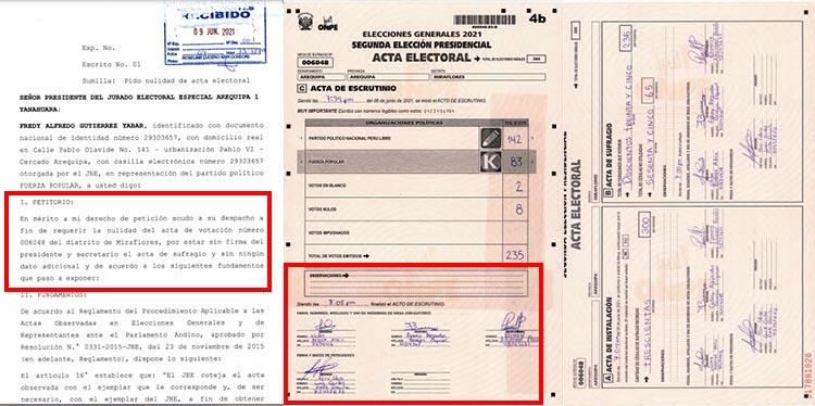 CASO 3: Acta 006048, de distrito de Miraflores.