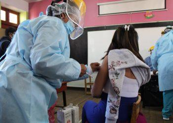 Inoculación a maestros rurales es ampliado hasta el 12 de julio