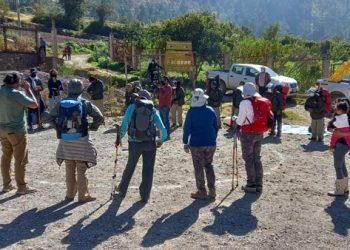 Reaperturan Red de Caminos Inka del Santuario Histórico y Parque Arqueológico de Machupicchu