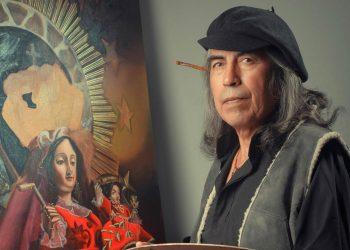 Wilber Maydana Iturriaga, pintor yunguyeño, cumple 45 años de trayectoria artística
