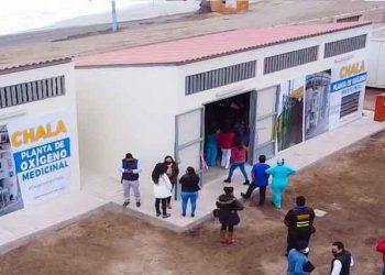 Arequipa: Planta de oxígeno de Chala entra en acción y produce 20 balones de insumo