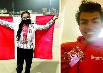 Arequipeños logran 3 medallas de bronce en postas del Sudamericano de Atletismo U20