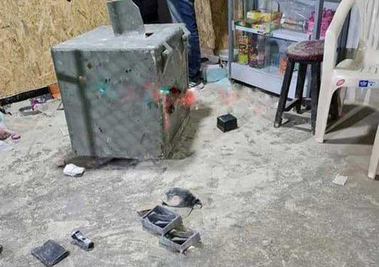 Delincuentes realizan forado para robar caja fuerte de una casa de cambios en Juliaca