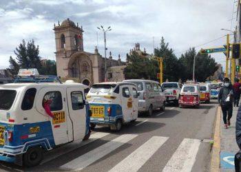 Piden trabajo conjunto del municipio y la PNP apara solucionar caos vehicular