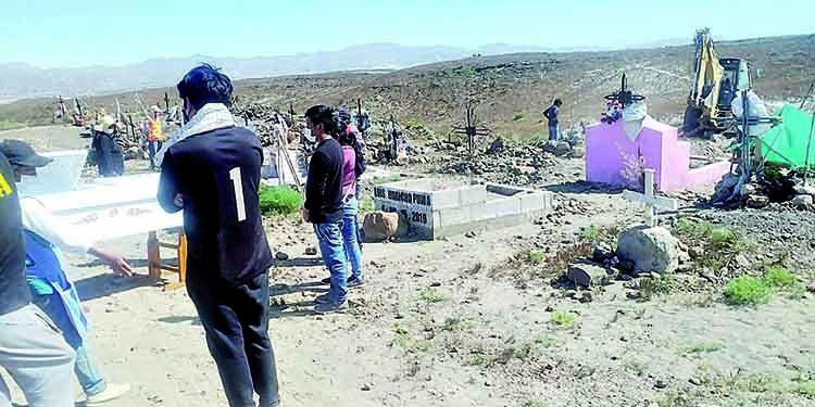 Cementerio El Ángel al límite de capacidad tras aumento de entierros por Covid en Arequipa