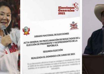 ¿Cuándo proclamarán al nuevo presidente del Perú?, responde vocero del JNE