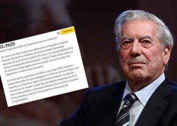 El País rechaza argumentación de Vargas Llosa por afirmar fraude electoral en Perú