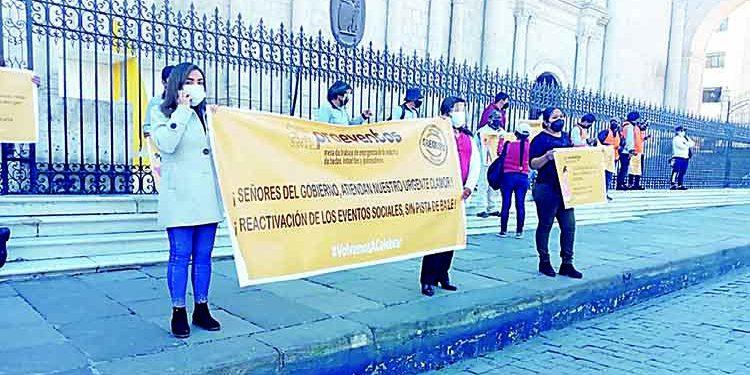 Empresarios eventos sociales y bodas de Arequipa piden reactivación al Gobierno