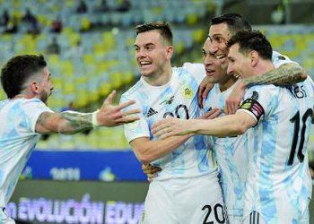 Equipo de Messi derrotó a Brasil y es campeón de la Copa América