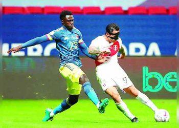 Perú cae en la agonía del partido 3-2 ante Colombia y ocupa el cuarto lugar de la Copa América 2021