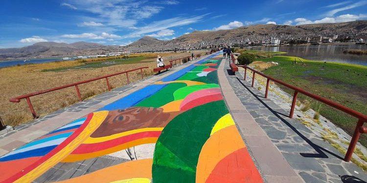 Más de 200 artistas son los creadores obra de tres kilómetros