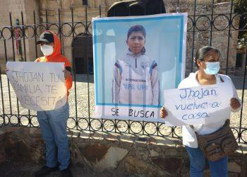 Jhohan continua desaparecido, padres del menor piden apoyo a la población para ubicarlo