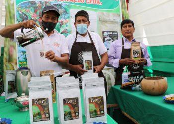 Cafetaleros y cacaoteros agotaron sus productos en Expo Café del Bicentenario