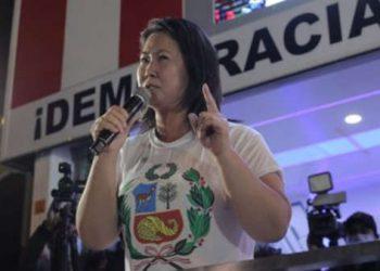 Abren investigación a Keiko Fujimori por fraude y delito contra el sufragio